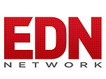 EDN network logo red