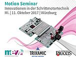 Motion Seminar by TRINAMIC Motion Control in Wurzburg, Germany